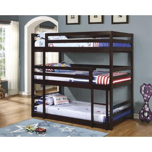 Adorno Twin Over Twin Triple Bed by Mack & Milo