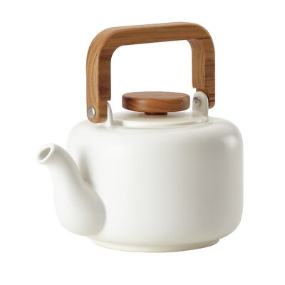 8 -qt. Ceramic Coffee Teapot with Infuser BonJour
