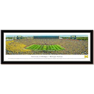 NCAA Stadium Print Picture Frame By Campus Images