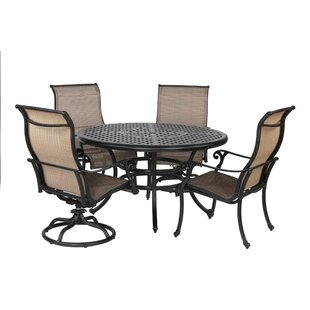 Darby Home Co Kempf 5 Piece Dining Set