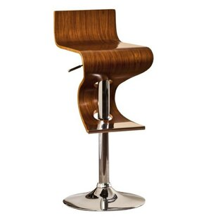 Stalker Adjustable Height Swivel Bar Stool Orren Ellis