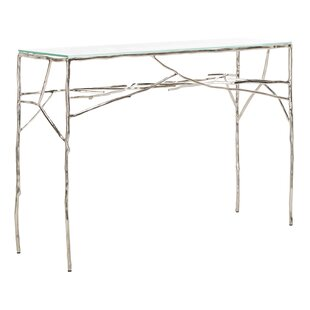 Ivy Bronx Mineral Twig Console Table