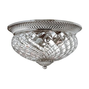 Bargain Plantation 3 Light 60W Flush Mount By Hinkley Lighting