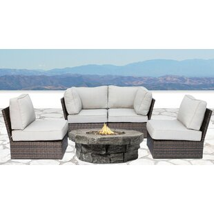 Winsford 5 Piece Sectional Set with Cushions