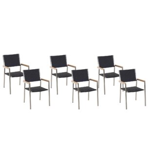 Standridge Stacking Garden Chair (Set Of 6) By Sol 72 Outdoor