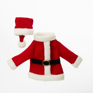 Festive Santa's Coat and Hat Decorative 11
