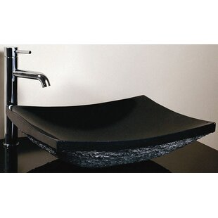 Ryvyr Stone Rectangular Vessel Bathroom Sink