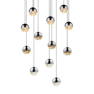 Grapes 12-Light Pendant by Sonneman