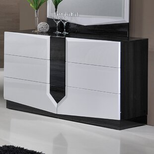Buying Baywood 7 Drawer Dresser with Mirror by Orren Ellis
