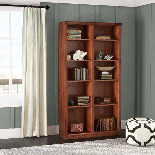 Didier Double Wide Bookcase   Wayfair
