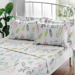 Gardenia Percale Sheet Set
