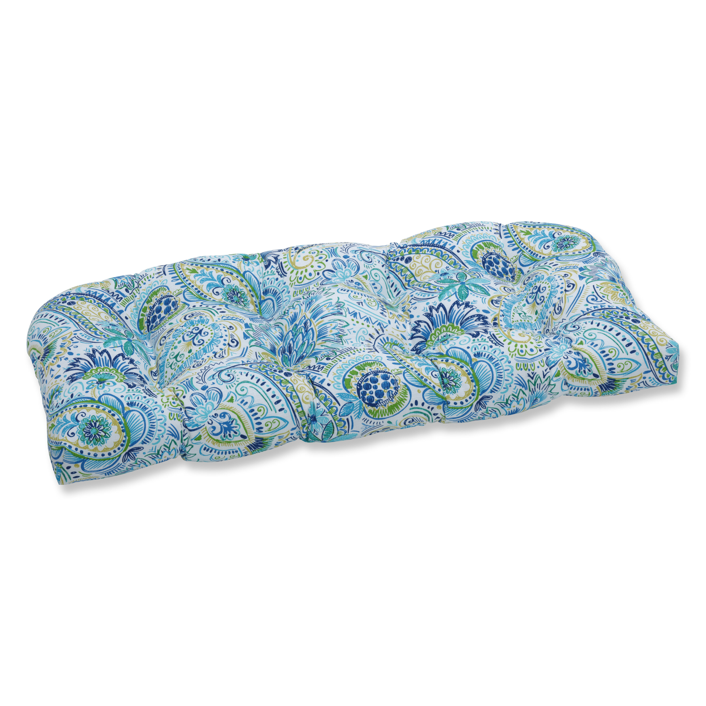 Charlton Home Barbay Baltic Wicker Indoor Outdoor Bench Cushion Reviews Wayfair