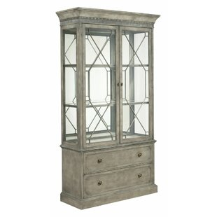 Ainsley Lighted China Cabinet by One Allium Way