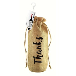 Thanks! Jute Wine Bottle Sack