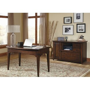 Charlton Home Mary 2-Piece Office Desk Suite