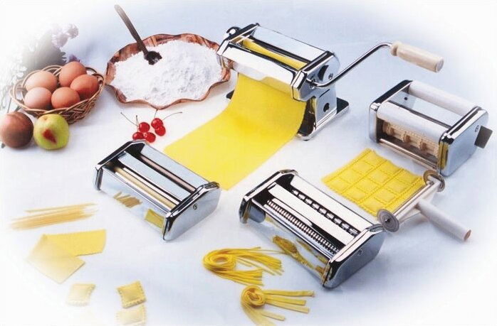 Cucinapro Pasta Fresh Series Manual Pasta Maker With 3 Attachments Reviews