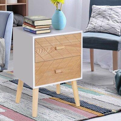 Nachttisch Nick   Schlafzimmer > Nachttische   Holz - Kiefernholz   Norden Home