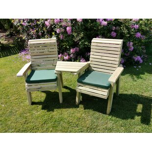Hallsboro Wooden Love Seat By Sol 72 Outdoor