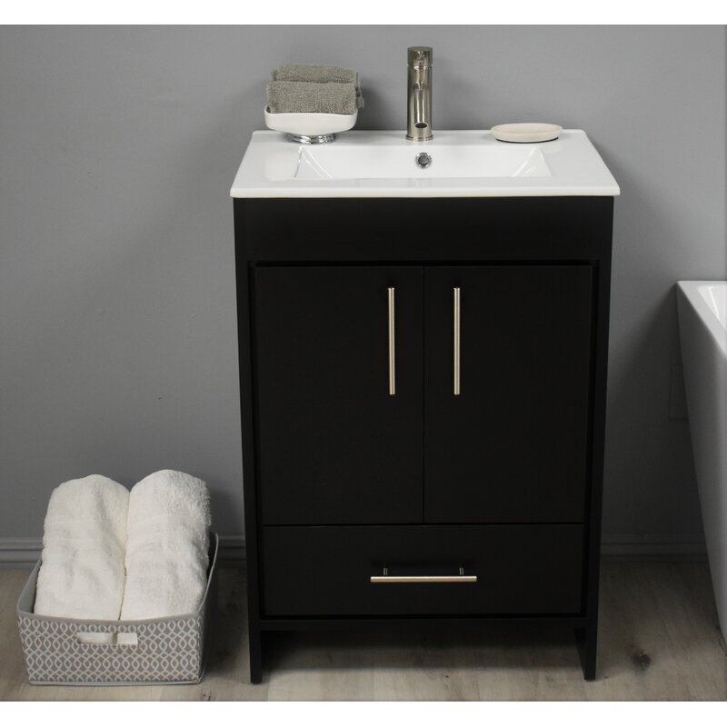 Latitude Run Sallisaw 24 Single Bathroom Vanity Set Wayfair
