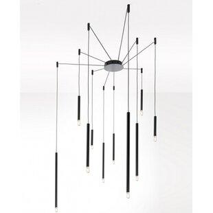 Esser 10-Light LED Cluster Pendant by Orren Ellis