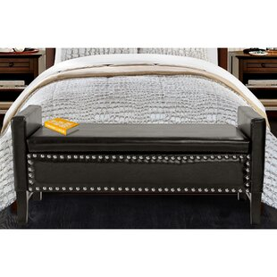 Iconic Home Lance Upholstered Storage Bench