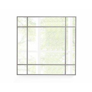 Orren Ellis Modern Square Accent Mirror