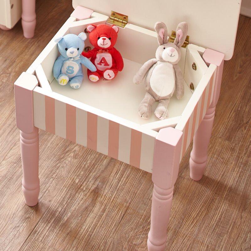 Bouquet Vanity Table \u0026 Stool Set & Fantasy Fields Bouquet Vanity Table \u0026 Stool Set \u0026 Reviews | Wayfair