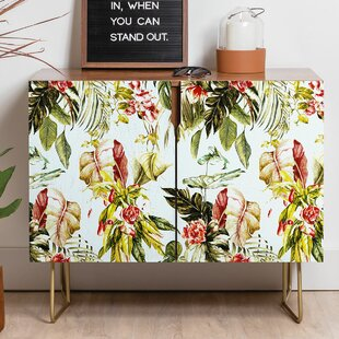 Marta Barragan Camarasa Botanical Jungle Bouquet Sideboard East Urban Home