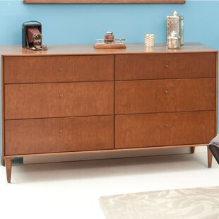 Bounds 6 Drawer Double Dresser