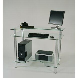 Tier One Designs Glass Computer Desk