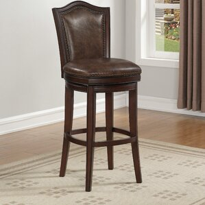 Minden Swivel Bar Stool by Darby Home Co