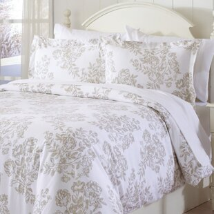 Thacker Extra Soft Printed Flannel Duvet Cover Set