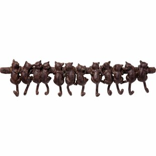 Cats Wall Mounted Coat Rack By KARE Design