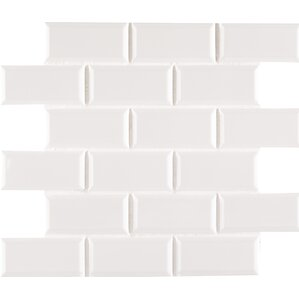 Msi 3 X 6 Ceramic Subway Tile In Whisper White Wayfair