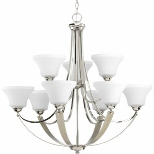 Red Barrel Studio Abid 9-Light Shaded Chandelier