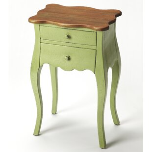 Ruppe End Table by Bungalow Rose
