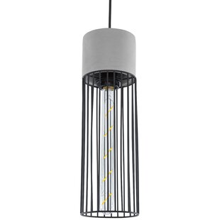 Callista 1-Light Cylinder Pendant by Williston Forge