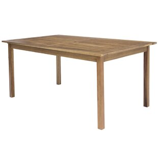 Airdrie Acacia Dining Table By Sol 72 Outdoor
