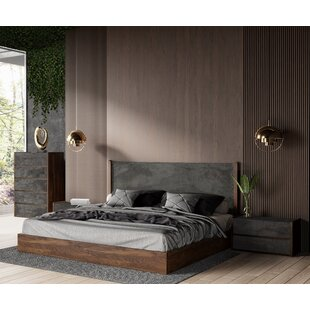 The Best Luxury Bed On Wayfair Is Ber Upholstered Platform Bed By Rosdorf Park