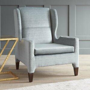 Renzo Wingback Chair by DwellStudio