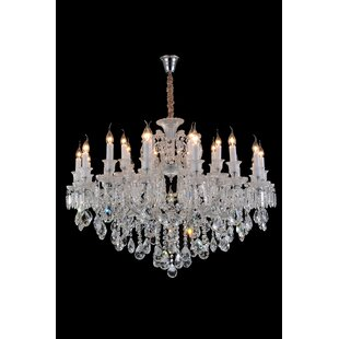 Chambord 25-Light Candle Style Chandelier by Michael Amini