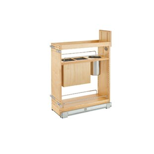 Pull-Out Wood Base Cabinet Organizer