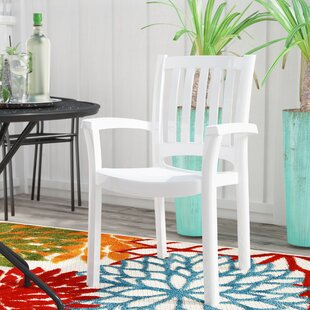 Affordable Snake River Stacking Patio Dining Chair (Set of 4) By Red Barrel Studio