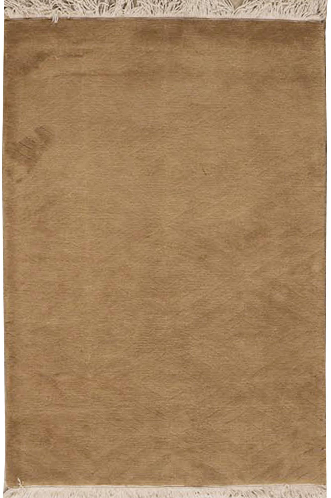 Bokara Rug Co Inc Rectangle Hand Knotted Wool Gold Area Rug Wayfair