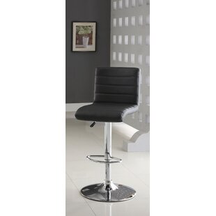 Elenore Adjustable Height Swivel Bar Stool