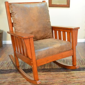 Pogue Rocking Chair by August Grove