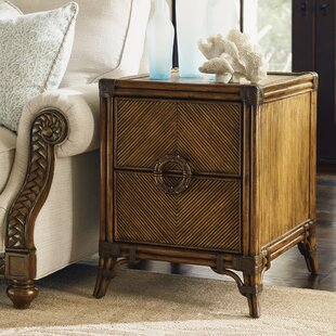 Bali Hai End Table with Storage