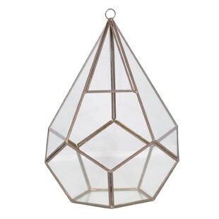 Louisburg Glass Polyhedron Terrarium By Borough Wharf
