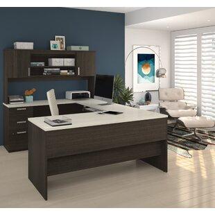 Latitude Run Barts U-Shape Executive Desk