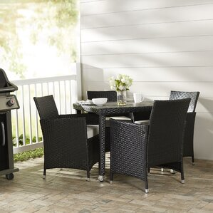 Modern Patio Dining Furniture modern & contemporary patio dining sets you'll love | wayfair